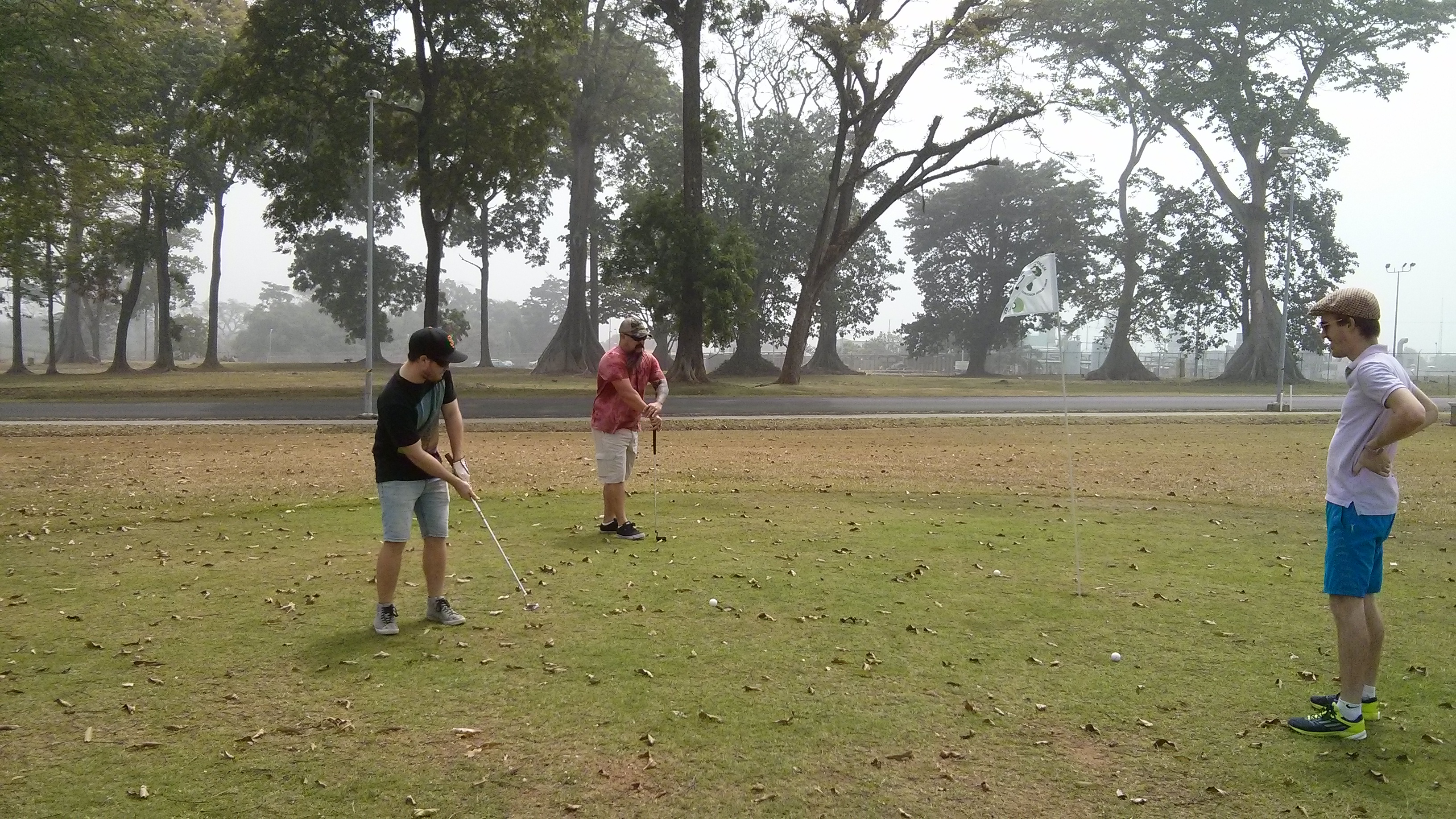 The Boys' golf afternoon