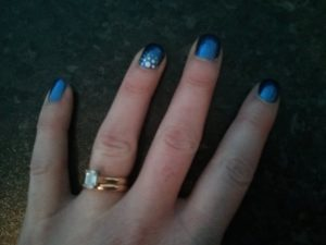 Beautiful nails - thanks Ms Melody!